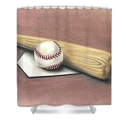 Pastime Shower Curtain