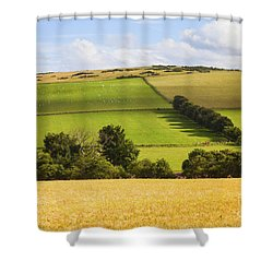 Pastoral Scene Shower Curtain