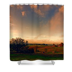 Pastureland Shower Curtain