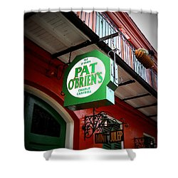 Pat O's Shower Curtain by Beth Vincent
