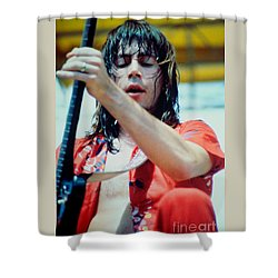Pat Travers At Spartan Stadium In San Jose Ca 8-19-79 Shower Curtain