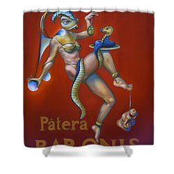 Patera Baronis Shower Curtain