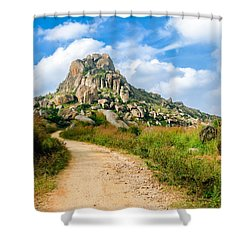 Path Into The Hills Shower Curtain