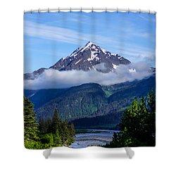 Path Through Alaska Shower Curtain