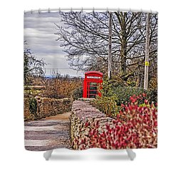 Path Through The Cotswolds Shower Curtain