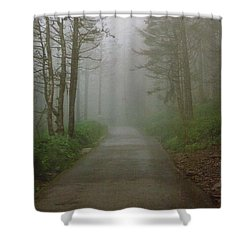 Path To Clingmans Dome Shower Curtain