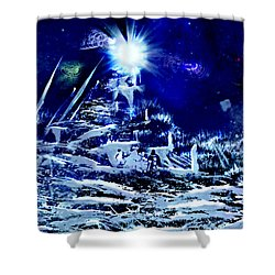 Path To Enlightment Shower Curtain
