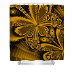 Shower Curtain featuring the digital art Paths Of Possibility by Elizabeth McTaggart