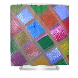 Patience And Peace Shower Curtain