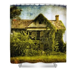 Patiently Waiting Shower Curtain by Lois Bryan