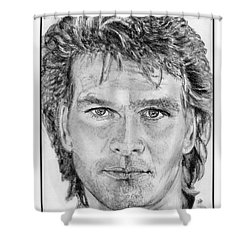 Patrick Swayze In 1989 Shower Curtain
