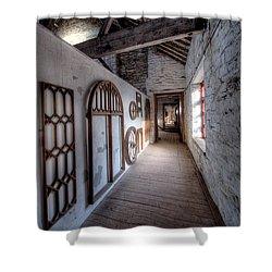 Pattern Loft Shower Curtain by Adrian Evans