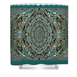 Pattern. Art For Home And Office Shower Curtain by Oksana Semenchenko