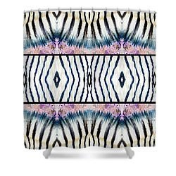 Patterned After Nature IIi Shower Curtain by Lady Ex