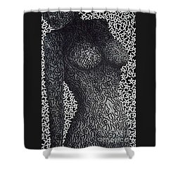 Patterned  Scent Shower Curtain