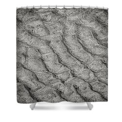 Patterns In The Sand Shower Curtain