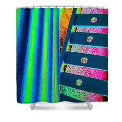 Patterns Shower Curtain by Jacqueline McReynolds