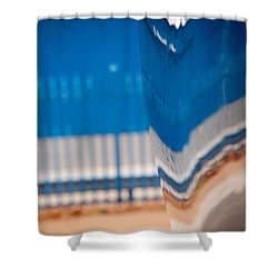 Patterns Shower Curtain by Paul Job