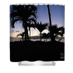 Shower Curtain featuring the photograph Pau Hana Time by Fred Wilson