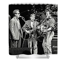 Paul Simon And Friends Shower Curtain by Chuck Spang