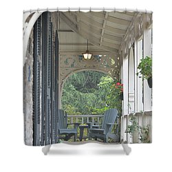 Pause For Reflection Shower Curtain