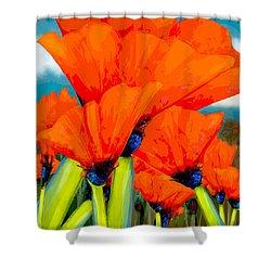 Pavot Shower Curtain