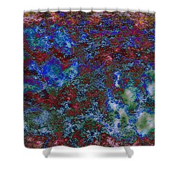 Paw Prints Intermingle 2 Shower Curtain