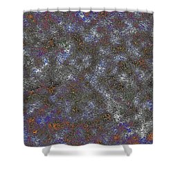 Paw Print Medley Shower Curtain