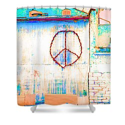 Peace 1 Shower Curtain