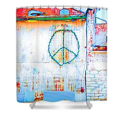 Peace 3 Shower Curtain