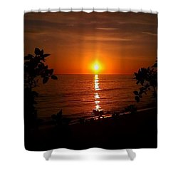 Peace At The Beach Shower Curtain