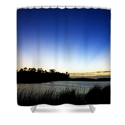 Peace Shower Curtain by Beverly Stapleton