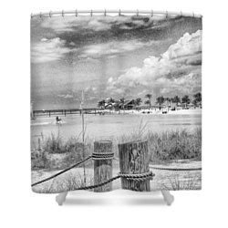 Shower Curtain featuring the photograph Peace by Howard Salmon