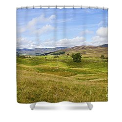 Peace In Glen Clova Shower Curtain