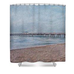 Peace Shower Curtain by Kim Hojnacki