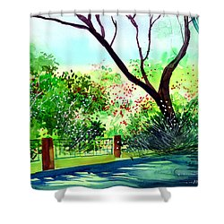 Peace Of Mind 1 Shower Curtain by Anil Nene
