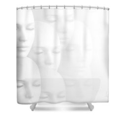 Peace Of Mind Shower Curtain by Jacky Gerritsen