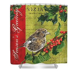 Peace On Earth 1 Shower Curtain by Debbie DeWitt