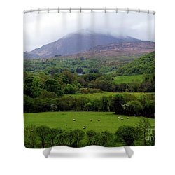 Peace On The Emerald Isle Shower Curtain