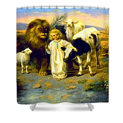 Peace Shower Curtain by William Strutt