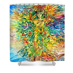 Peaceable Kingdom Shower Curtain