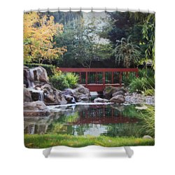 Peaceful Dreams Shower Curtain by Laurie Search