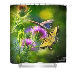 Peaceful Easy Feeling Shower Curtain
