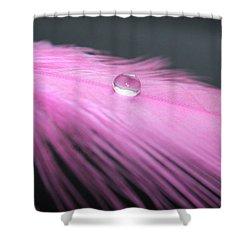 Peaceful Feeling Shower Curtain by Krissy Katsimbras