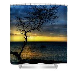 Peaceful Hawaii Shower Curtain by Kim Hojnacki