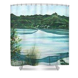 Peaceful Lake Shower Curtain