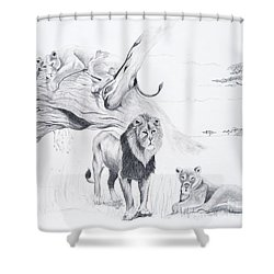 Peaceful Pride Shower Curtain