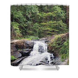Peaceful Retreat Shower Curtain