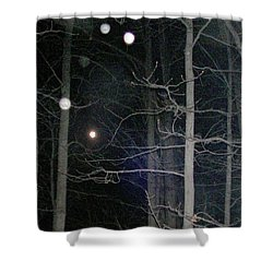 Shower Curtain featuring the photograph Peaceful Spirits Passing by Pamela Hyde Wilson