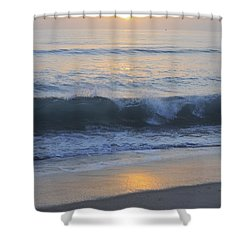 Peaceful Sunset Shower Curtain